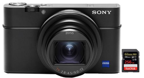 Sony Cybershot DSC-RX100 VI + SanDisk 256 GB Speicherkarte Main Image