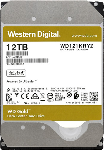 WD Gold WD121KRYZ 12TB Main Image