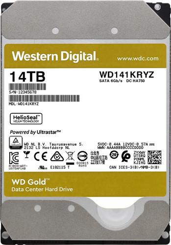 WD Gold WD141KRYZ 14 TB Main Image