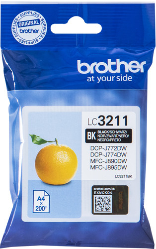Brother LC-3211 Patrone Schwarz Main Image