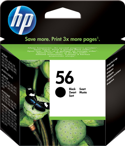 HP 56 Patrone Schwarz Main Image