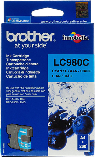 Brother LC-980 Patrone Cyan Main Image