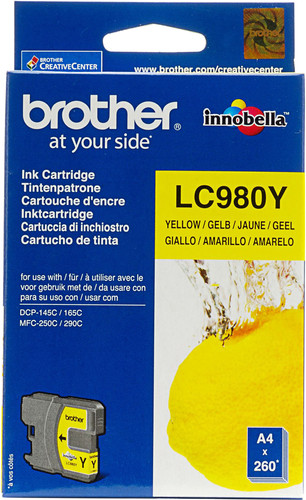 Brother LC-980 Patrone Gelb Main Image