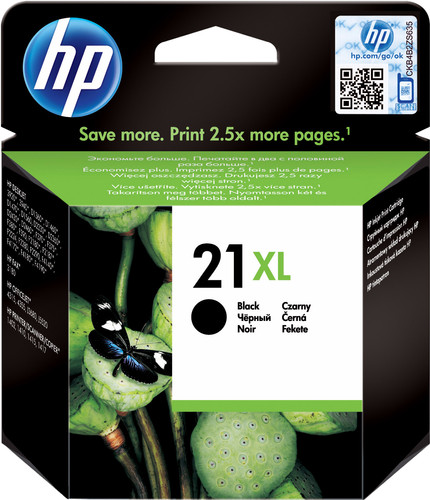HP 21XL Patrone Schwarz Main Image