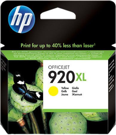 HP 920XL Patrone Gelb Main Image