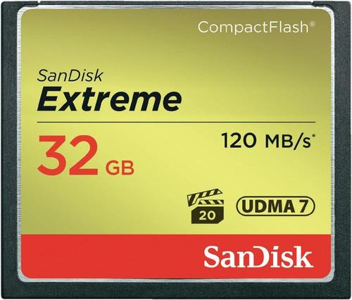 Sandisk CF Extreme, 32 GB, 120 MB/s Main Image