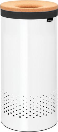 Brabantia Wäschekorb mit Kork 60 Liter - Weiß Main Image