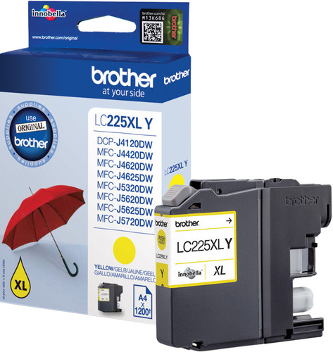 Brother LC-225XL Patrone Gelb Main Image