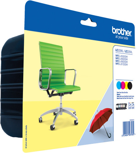 Brother LC-229XL / LC-225XL Patronen Kombipack Main Image