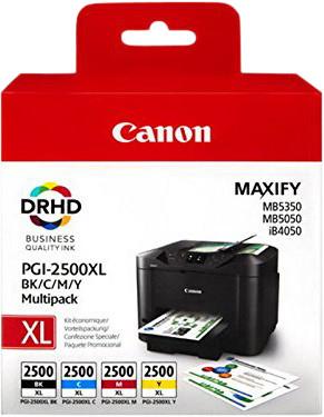 Canon PGI-2500XL Cartridges Combo Pack Main Image