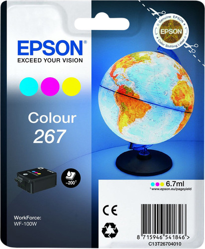 Epson 267 Patronenfarbe Main Image