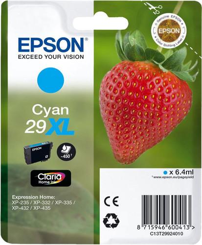 Epson 29XL Cartridge Cyan Main Image