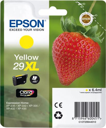 Epson 29XL Patrone Gelb Main Image
