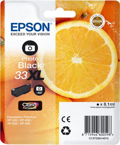 Epson 33XL Cartridge Photo Schwarz Main Image