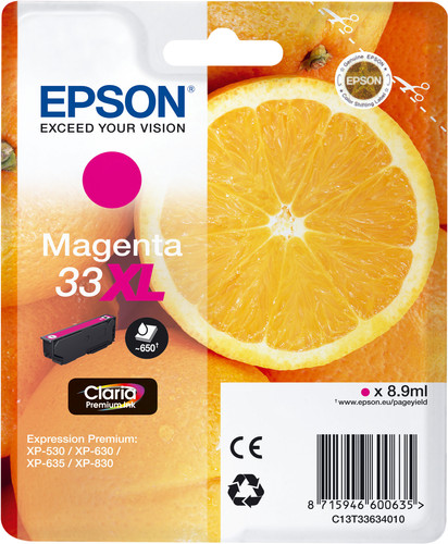 Epson 33XL Patrone Magenta Main Image