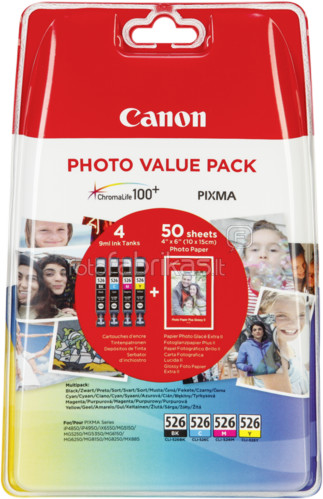 Canon CLI-526 Value Pack Main Image