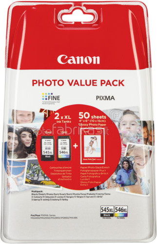 Canon PG-545XL / CL-546XL Value Pack Main Image
