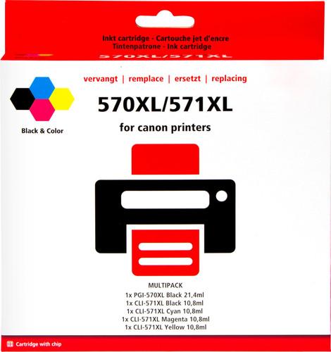 Pixeljet PGI-570 / CLI-571XL Patronen Combo Pack Main Image