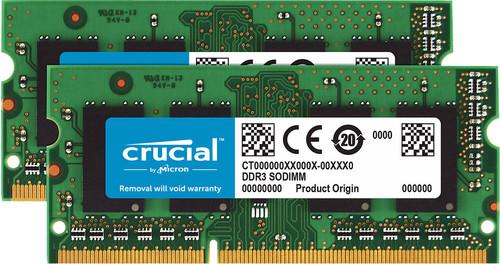 Crucial Standard 16GB DDR3L SODIMM 1600 MHz (2x8GB) Main Image