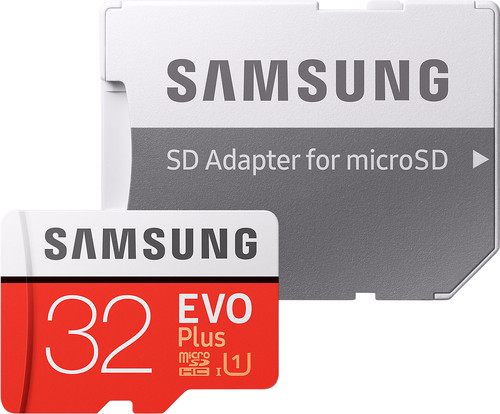 Samsung microSDHC EVO+, 32 GB, 95 MB/s, CL 10 + SD-Adapter Main Image