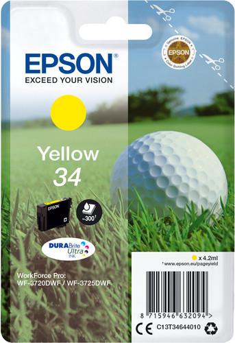 Epson 34 Patrone Gelb Main Image