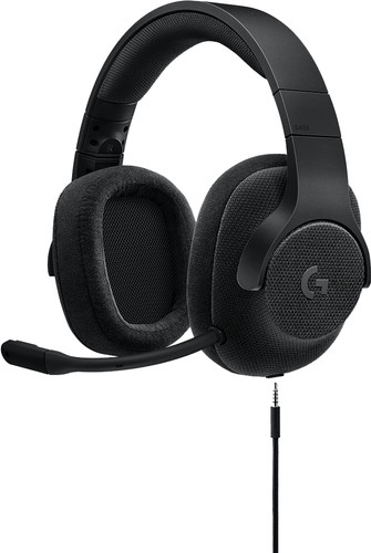 Logitech G433 7.1 Surround-Sound Gaming-Headset Schwarz Main Image