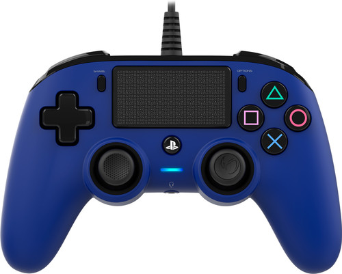 Nacon PS4 Official Wired Controller in Blau Main Image