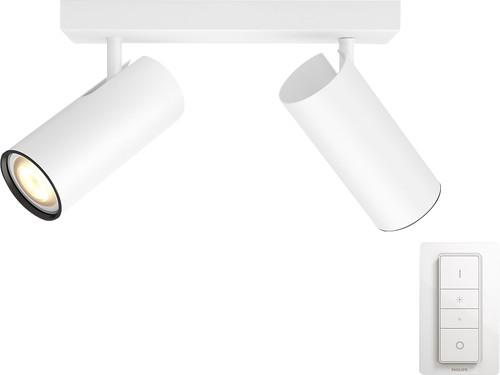 Philips Hue Buratto 2-Spot Weiß mit Dimmer Main Image
