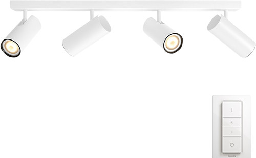 Philips Hue Buratto 4-Spot Weiß mit Dimmer Main Image