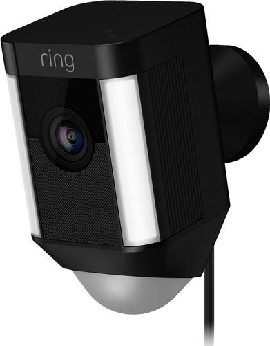Ring Spotlight Cam Wired Schwarz Main Image