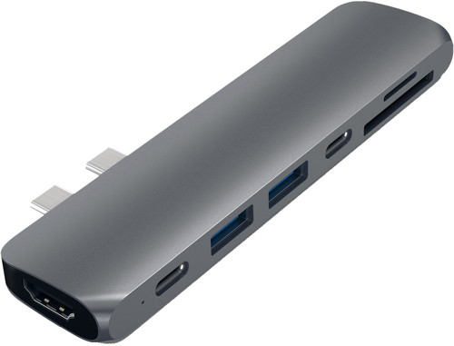 Satechi TYPE-C PRO Hub 4K HDMI Grau Main Image