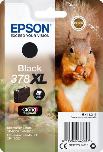 Epson 378XL Patrone Schwarz Main Image