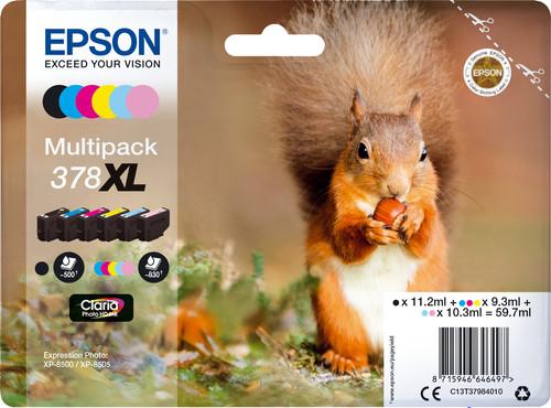 Epson 378XL Cartridges Combo Pack Main Image