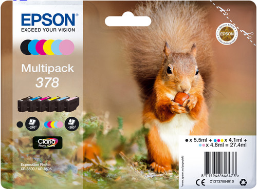 Epson 378 Cartridges Combo Pack Main Image