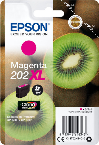Epson 202XL Patrone Magenta Main Image