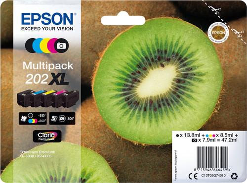 Epson 202XL Cartridges Combo Pack Main Image