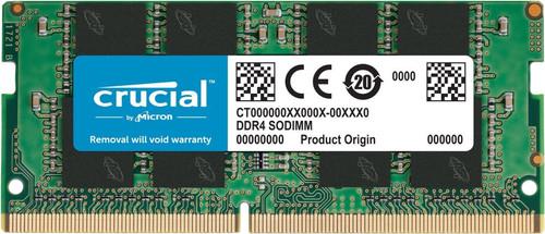 Crucial 16 GB SODIMM DDR4-2400 1 x 16 GB Main Image