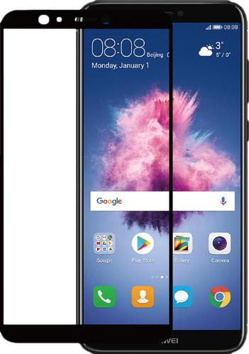 Azuri gehärtetes Glas Huawei P Smart Displayschutzglas Schwarz Main Image