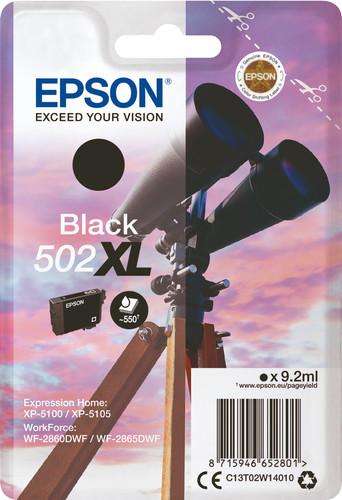 Epson 502XL Patrone Schwarz Main Image