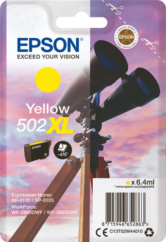 Epson 502XL Patrone Gelb Main Image