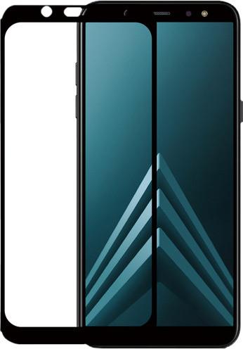 Azuri gehärtetes Glas Samsung Galaxy A6 (2018) Displayschutzglas Schwarz Main Image