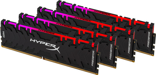Kingston HyperX Predator RGB 32GB DDR4 DIMM 2.933 MHz (4x8GB) Main Image