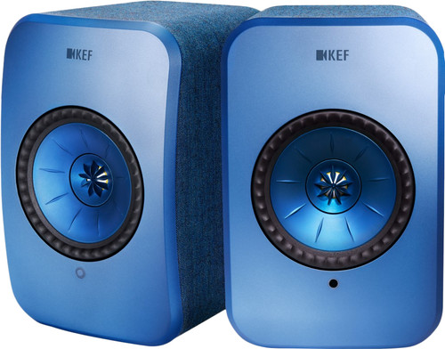 KEF LSX Wireless Stereo System Blau Main Image