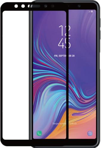 Azuri gehärtetes Glas Samsung Galaxy A7 (2018) Displayschutzglas Schwarz Main Image