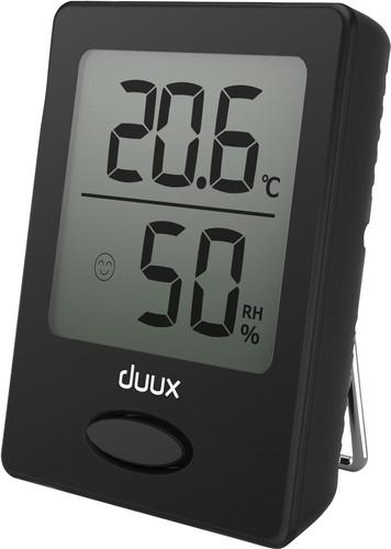 Duux Sense Hygrometer und Thermometer Schwarz Main Image