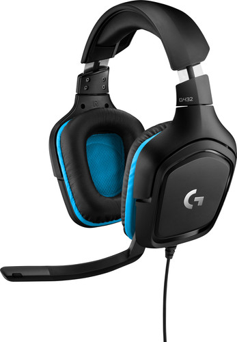 Gaming-Headset Logitech G432 7.1 Surround Sound Wired Main Image