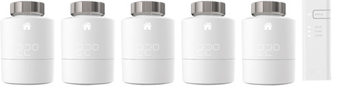 Tado intelligenter Heizkörperthermostat 5er Pack + Starterkit V3 + Main Image