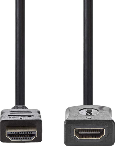 Nedis HDMI-Verlängerungskabel 2 Meter Schwarz Main Image