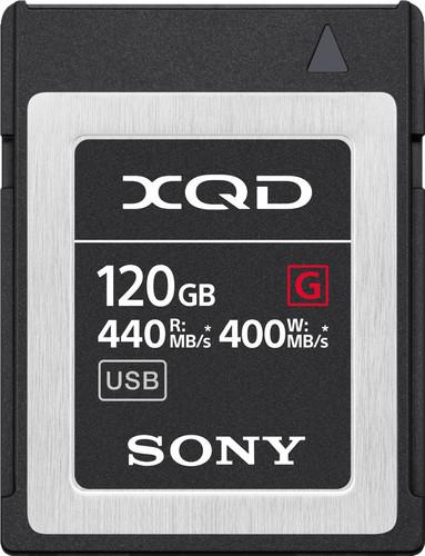 Sony XQD G, 120 GB, High Speed R440 W400 Main Image