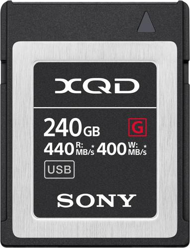 Sony XQD G, 240 GB, High Speed R440 W400 Main Image